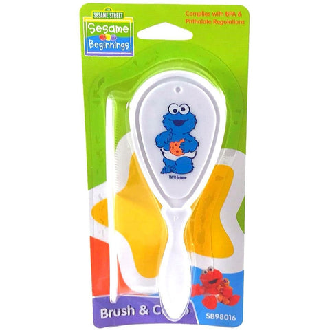 Sesame Street Brush & Comb Cookie Monster