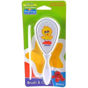 Sesame Street Brush & Comb - Big Bird