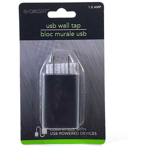 E-circuit USB Wall Block - Black