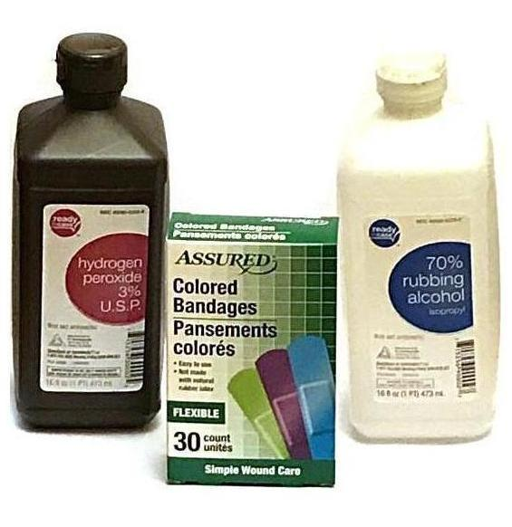 Disinfect and Bandage Bundle