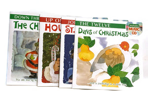 Holiday Story Book Bundle with Music CD