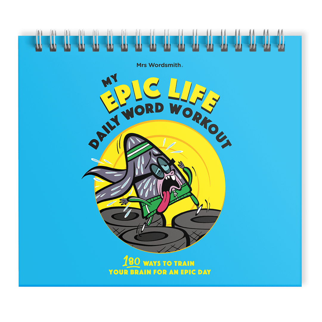 My Epic Life Daily Word Workout for ages 4-7 | Mrs Wordsmith
