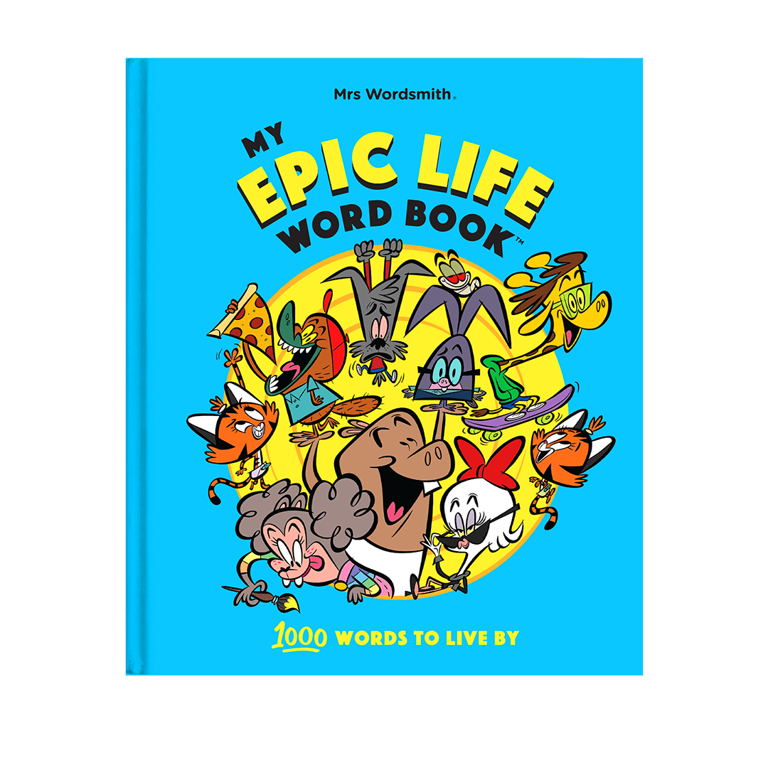 My Epic Life Word Book - words for ages 4 - 7 | Mrs Wordsmith