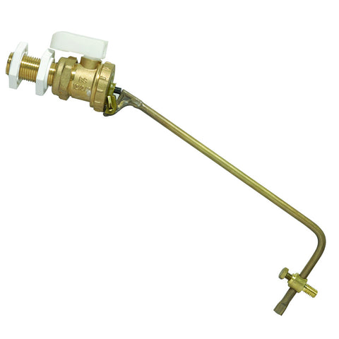 Part 2 Brass Float / Ball Valve - Plumbing and Heating Supplies UK