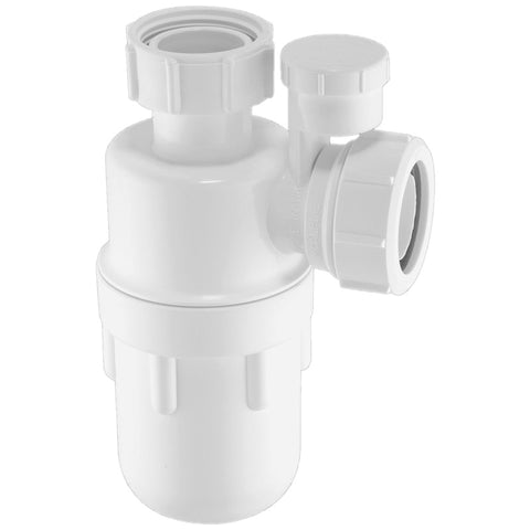 McAlpine Anti Vac 32mm Bottle Trap A10V - Plumbing and Heating Supplies UK