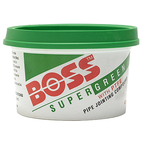 BOSS Green Jointing Compound - 400g Tub - Plumbing and Heating Supplies UK
