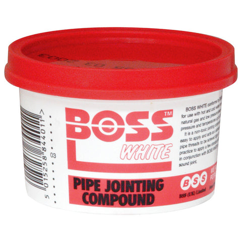 BOSS White Jointing Compound - 400g Tub - Plumbing and Heating Supplies UK