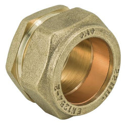 15mm Compression Stop End / Blank - Plumbing and Heating Supplies UK