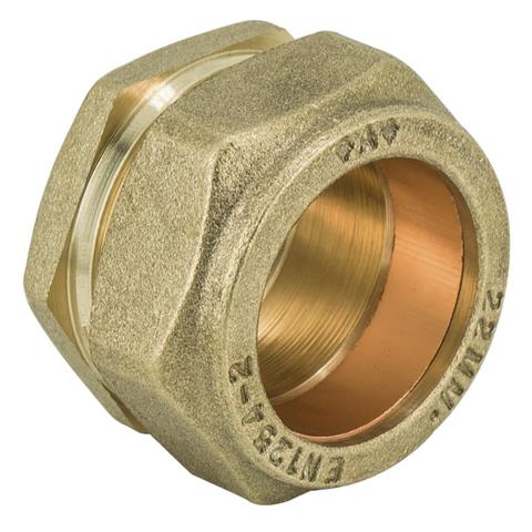 22mm Compression Stop End / Blank - Plumbing and Heating Supplies UK