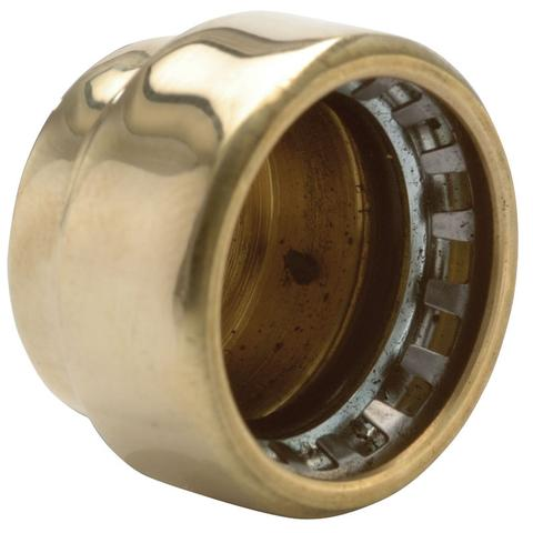 28mm Copper Push Fit Stop Ends / Blank - Plumbing and Heating Supplies UK