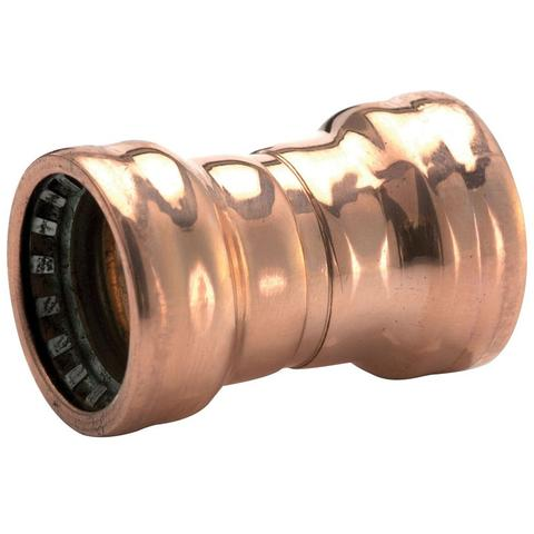 22mm Copper Push Fit Straight Couplers - Plumbing and Heating Supplies UK