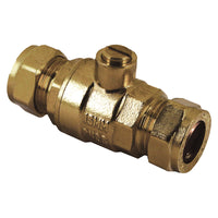 15mm Compression Brass Full Bore Isolation Valves - Plumbing and Heating Supplies UK