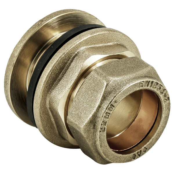 22mm Compression Tank Connector - Plumbing and Heating Supplies UK