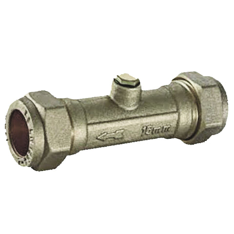 15mm Compression Double Check Valves - Plumbing and Heating Supplies UK