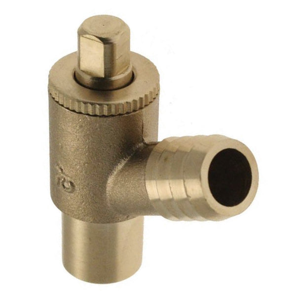 "1/2"" Type A Endfeed Drain Off Cock - Plumbing and Heating Supplies UK"