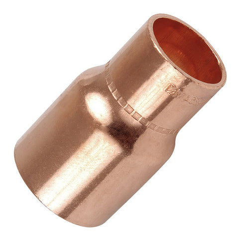 10mm x 8mm Endfeed Reducing Coupler - Plumbing and Heating Supplies UK
