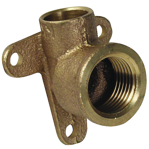 "1/2"" Endfeed Back Plate Elbow - Plumbing and Heating Supplies UK"