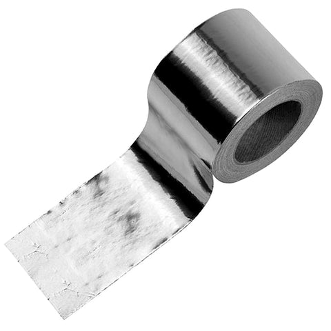 Aluminium Foil Tape - 50mm x 45m - Plumbing and Heating Supplies UK