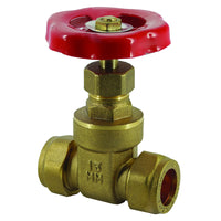 42mm Compression Gate Valves - Plumbing and Heating Supplies UK