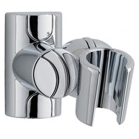 MX Shower Head Holder Adjustable Fixed Wall Bracket - Chrome - Plumbing and Heating Supplies UK