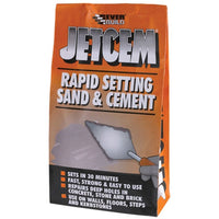 Jetcem Premix Sand & Cement - 2kg - Plumbing and Heating Supplies UK