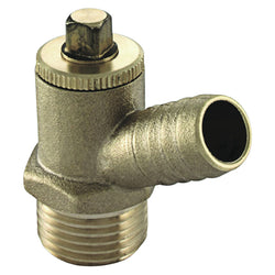 "1/2"" Type A Male Iron Screwed Drain Off Cock - Plumbing and Heating Supplies UK"