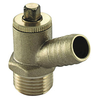 "3/4"" Type A Male Iron Screwed Drain Off Cock - Plumbing and Heating Supplies UK"