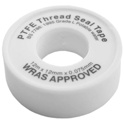 PTFE Thread Tape For Water - Plumbing and Heating Supplies UK
