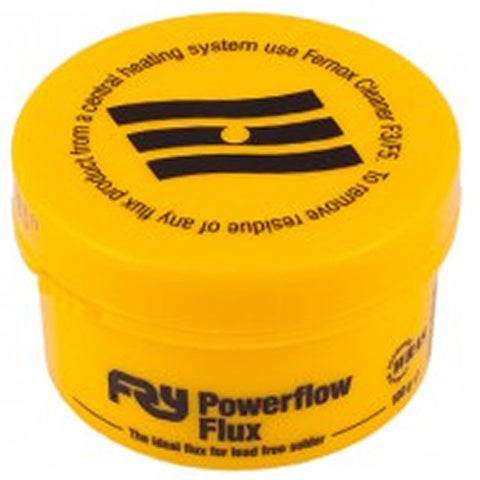 Powerflow Flux Fernox Fry - Various Size Tubs - Plumbing and Heating Supplies UK