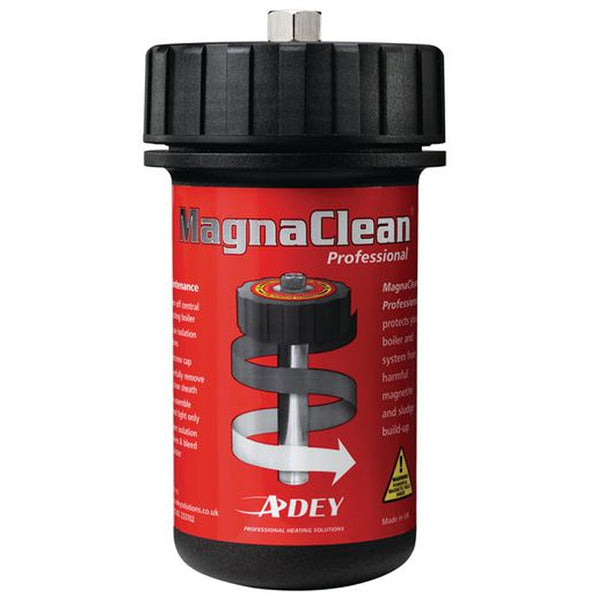 Adey Magnaclean Professional Magnetic Filter 22mm Pack - Includes Inhibitor and Cleaner - Plumbing and Heating Supplies UK