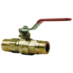 22mm Copper Push Fit Lever Ball Valve - Plumbing and Heating Supplies UK