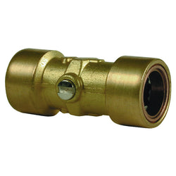 15mm Copper Push Fit Straight Isolation Valve - Plumbing and Heating Supplies UK