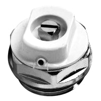 "Radiator Vent Directional Chrome 1/2"" - Plumbing and Heating Supplies UK"