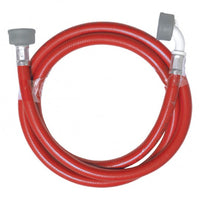 Washing Machine Hoses Red - Plumbing and Heating Supplies UK