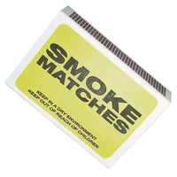Smoke Matches - Various Size Packs - Plumbing and Heating Supplies UK