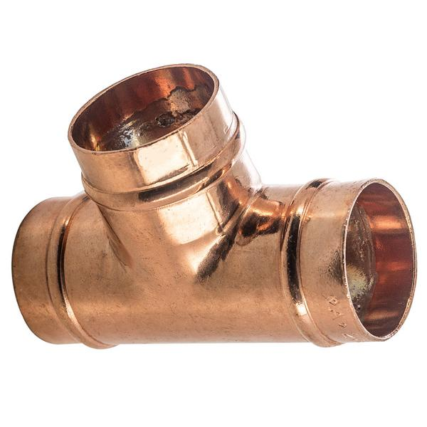 28mm Solder Ring Equal Tee - Plumbing and Heating Supplies UK