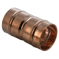 "3/4"" x 22mm Solder Ring Imperial - Metric Straight Coupler - Plumbing and Heating Supplies UK"