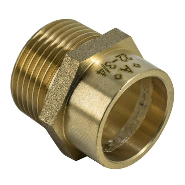 "1"" x 28mm Solder Ring Male Iron Straight Connector - Plumbing and Heating Supplies UK"