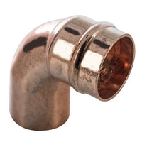 28mm Solder Ring Street Elbow - Plumbing and Heating Supplies UK