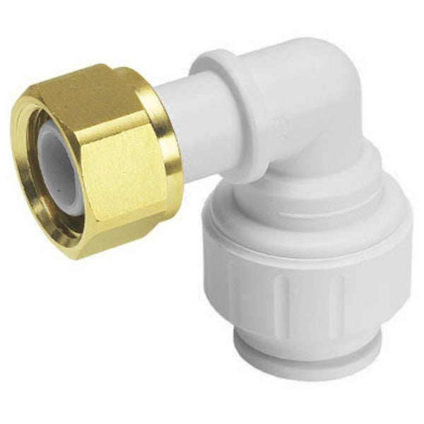 "John Guest Speedfit 15 x 1/2"" Tap Connector Bent 90 Degree PEMBTC1514 - Plumbing and Heating Supplies UK"