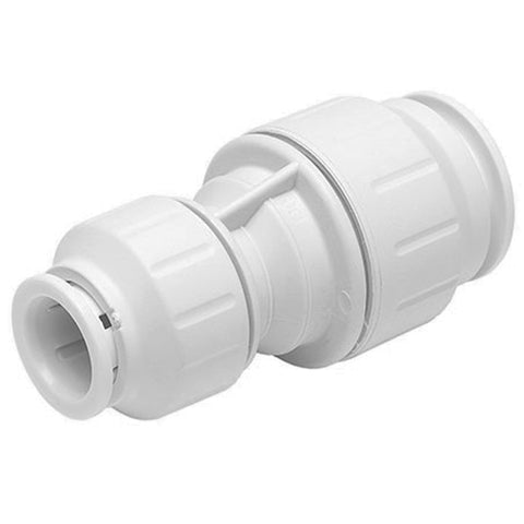 John Guest Speedfit 15 x 10mm Coupler Reducer Straight PEM201510W - Plumbing and Heating Supplies UK