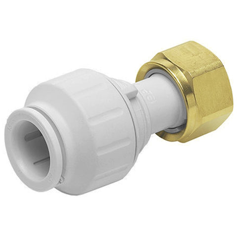 "John Guest Speedfit 22 x 3/4"" Tap Connector Straight PEMSTC2216 - Plumbing and Heating Supplies UK"