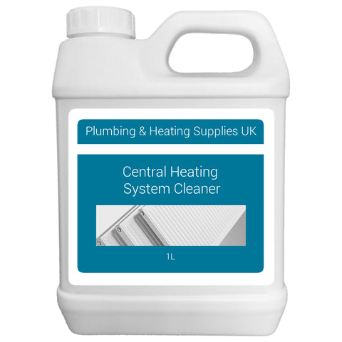 Central Heating System Cleaner - 1 Litre - Plumbing and Heating Supplies UK