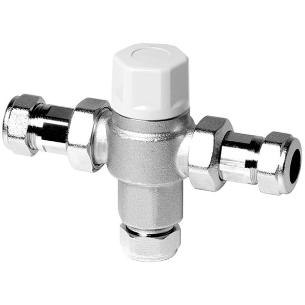 Thermostatic Mixing / Blending Valve TMV3 - Plumbing and Heating Supplies UK