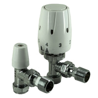 Thermostatic and Lockshield Radiator Valve Pack - Plumbing and Heating Supplies UK