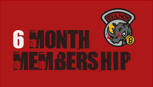6 Month Gym Membership - FootieSupply