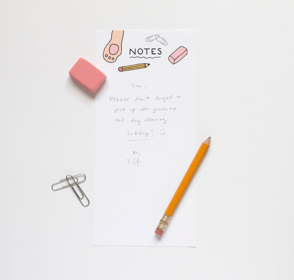Paw Notes Blank Notepad