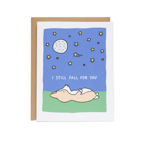 I Still Fall For You Card