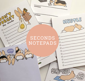 Seconds Notepads
