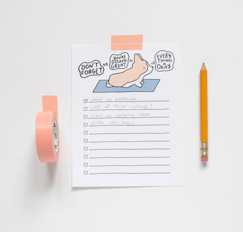 Don't Forget To Do List Notepad